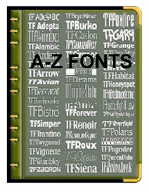 A-Z Fonts | Other Files | Fonts