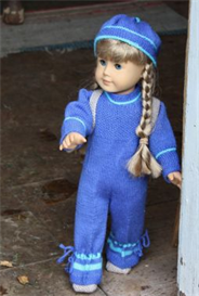 DollKnittingPattern 0033D KIRSTEN - Suit-Hat-Backpack-Shoes | Other Files | Arts and Crafts