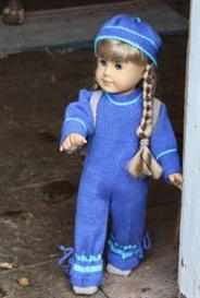 dollknittingpattern 0033d kirsten - suit-hat-backpack-shoes