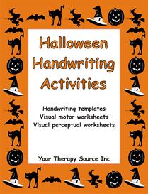 Halloween Handwriting Activities | eBooks | Education