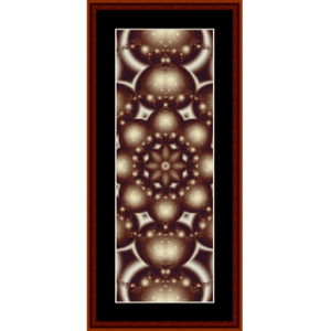 Fractal 239 Bookmark cross stitch pattern by Cross Stitch Collectibles | Crafting | Cross-Stitch | Other