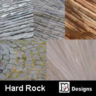 Hard Rock Digital Paper Pack