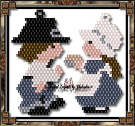 Pilgrim Jack and Jill | eBooks | Arts and Crafts