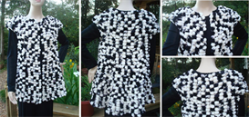 Freckly Swing Vest - Knit Pattern | eBooks | Arts and Crafts