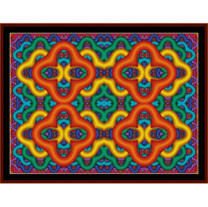 Fractal 146 cross stitch pattern by Cross Stitch Collectibles | Crafting | Cross-Stitch | Wall Hangings