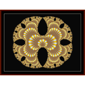 Fractal 152 cross stitch pattern by Cross Stitch Collectibles   Crafting   Cross-Stitch   Wall Hangings