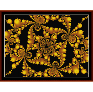 Fractal 158 cross stitch pattern by Cross Stitch Collectibles | Crafting | Cross-Stitch | Wall Hangings