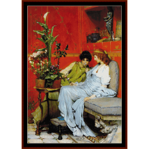 Portrait of a Woman - Van der Weyden cross stitch pattern by Cross Stitch Collectibles | Crafting | Cross-Stitch | Wall Hangings