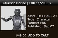 Futuristic Marine | FBX 11/2006 > | Other Files | Patterns and Templates
