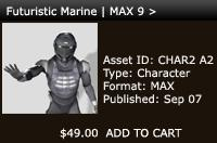 Futuristic Marine | Max 9 > | Other Files | Patterns and Templates