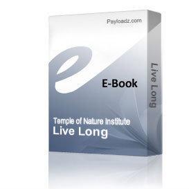 Live Long & Healthy! - by Victoria E. Weston | eBooks | Health