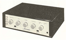 sherwood model s-1000 audio amplifier