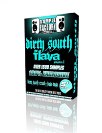 SAMPLE FACTORY DIRTY SOUTH FLAVA VOL 1