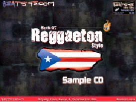 Reggaeton Style Hip Hop Loops, Drum Kits, Sample CD