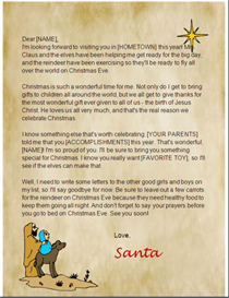 Christian Santa Letter | Other Files | Patterns and Templates