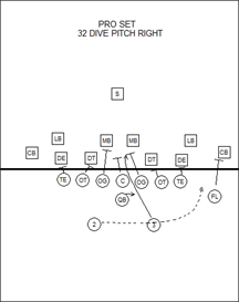 pro-form football playbook