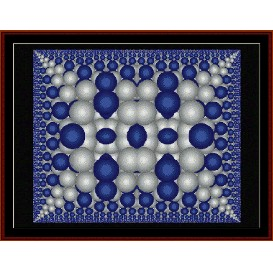 Fractal 178 cross stitch pattern by Cross Stitch Collectibles | Crafting | Cross-Stitch | Wall Hangings