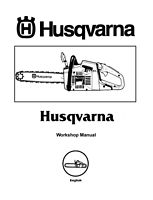 husqvarna 154 254 workshop manual