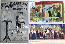 Circus Sideshow Freaks - Vintage Photo Album | eBooks | Entertainment