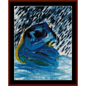 Rain - Nancy Murphy cross stitch pattern by Cross Stitch Collectibles   Crafting   Cross-Stitch   Wall Hangings