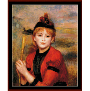 The Rambler - Renoir cross stitch pattern by Cross Stitch Collectibles | Crafting | Cross-Stitch | Wall Hangings