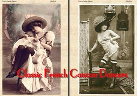 Classic French Cancan Dancers - An Ebook Photo Album! | eBooks | Entertainment
