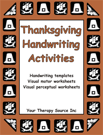 Thanksgiving Handwriting Activities | eBooks | Education