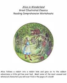 Alice In Wonderland Reading Comp. & L/A Worksheets | eBooks | Education