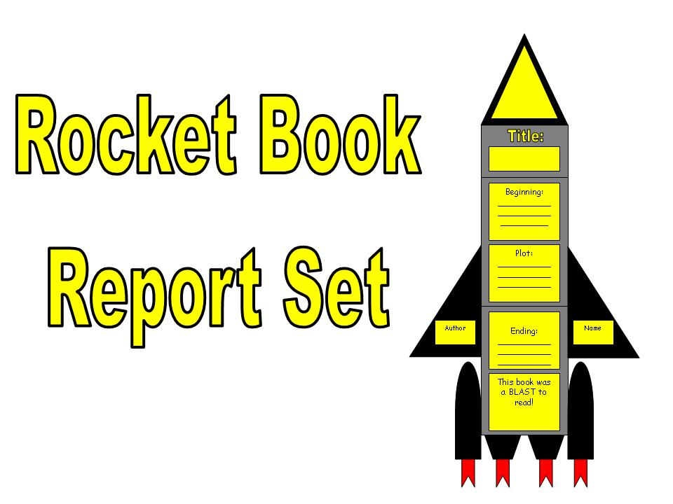 First Additional product image for - Rocket Book Report Set