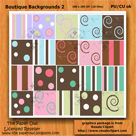 Boutique Backgrounds 2