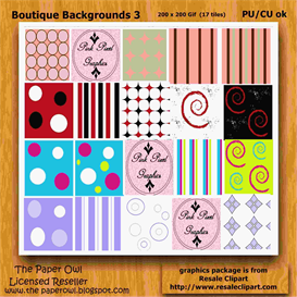 Boutique Backgrounds 3