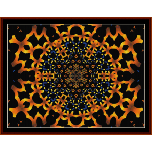 Fractal 209 cross stitch pattern by Cross Stitch Collectibles | Crafting | Cross-Stitch | Wall Hangings