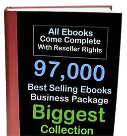 97,000 ebooks resell rights dvd + 18,756 plr articles