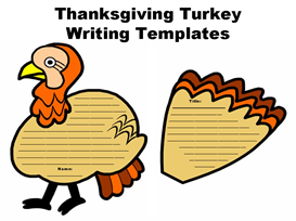 Turkey Creative Writing Set | Other Files | Documents and Forms