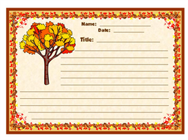 fall in love with writing stationery set