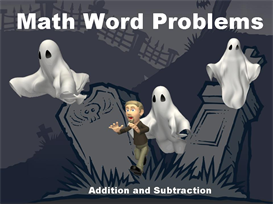 Halloween Math Word Problems Powerpoint | Other Files | Documents and Forms