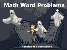 halloween math word problems powerpoint