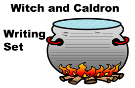 Witch and Cauldron Creative Writing Set | Other Files | Documents and Forms