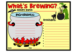 What's Brewing Recipe Set | Other Files | Documents and Forms