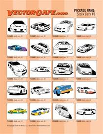 stock car vector clip art #3