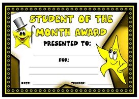 Student of the Month Award | Other Files | Documents and Forms