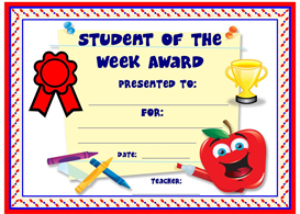 Student of the Week Award | Other Files | Documents and Forms
