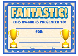 Fantastic Award | Other Files | Documents and Forms