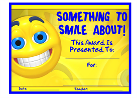 Something To Smile About Award | Other Files | Documents and Forms
