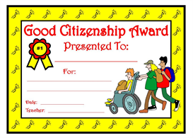 Good Citizenship Award | Other Files | Documents and Forms