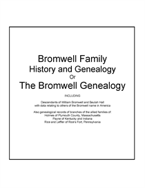Bromwell Family History and Genealogy | eBooks | History