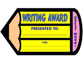 Writing Pencil Award | Other Files | Documents and Forms