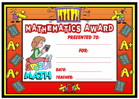 Mathematics Award | Other Files | Documents and Forms