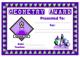 Geometry Award | Other Files | Documents and Forms