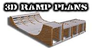 3D Ramp Plans v1.0 - Halfpipe Design Software for Skateboards, BMX or Inline | Software | Utilities